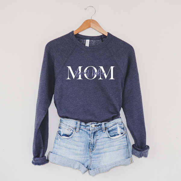MOM River Babe • Navy Pullover