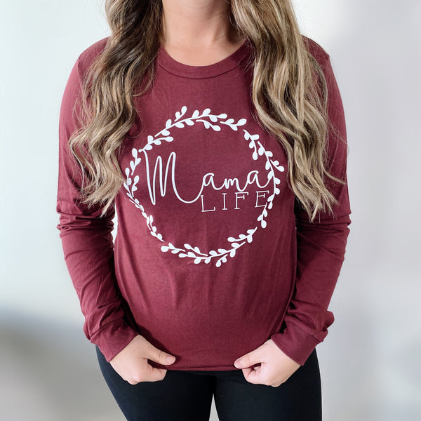Mama Wreath • Long Sleeved