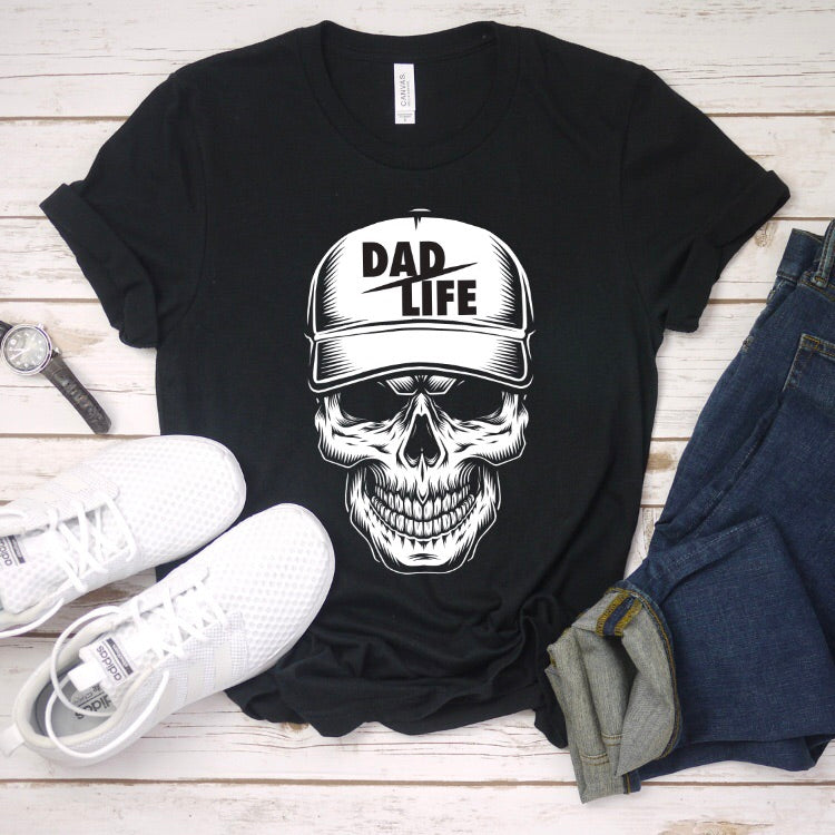 Skeleton Dad Life Tee