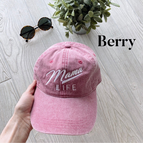 Mama Life Hat • NEW Colors!