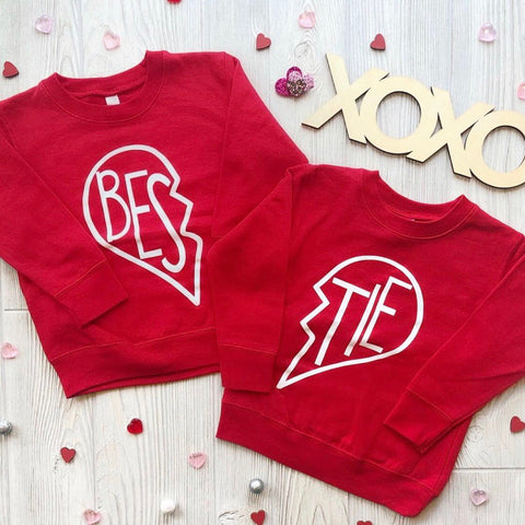 Bestie Pullovers • Red