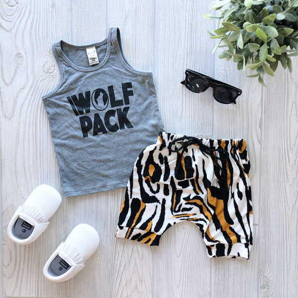 Wolf Pack • Gray Tank