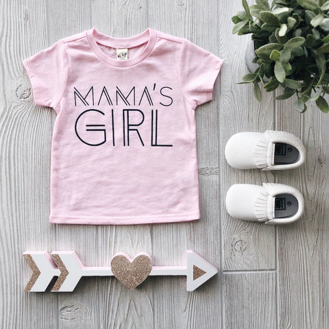 Mama's Girl • Light Pink Tee