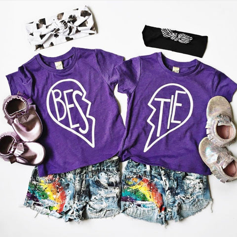 Bestie • Purple Tees