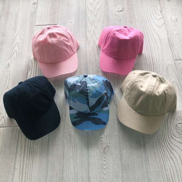 Kids Baseball Hat • More Colors!
