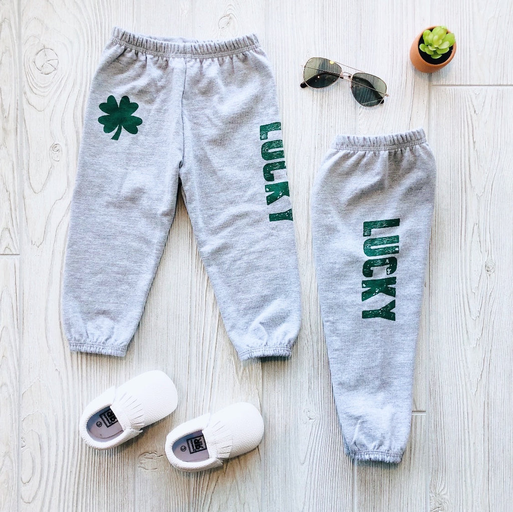 Lucky Sweatpants • Gray