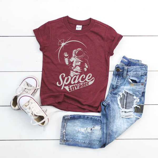 Space Invader • Kids Tee