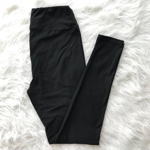 Wide-Waist Leggings