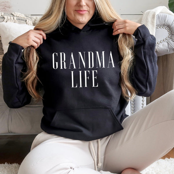 GRANDMA LIFE• Mother's Day Hoodie