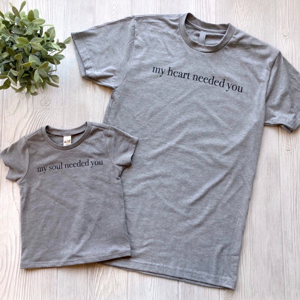 My Heart • Gray Tee