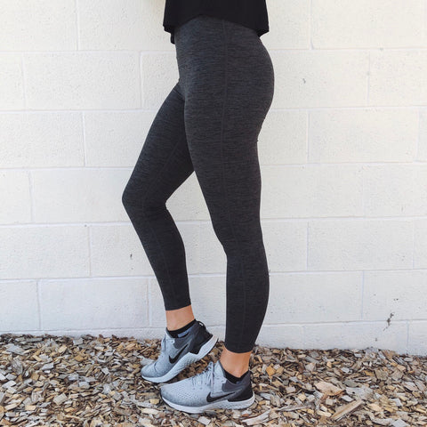 Basic Gray Leggings • 6168