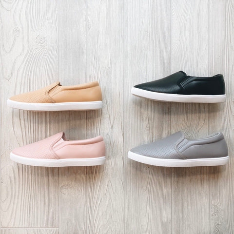 Perforated Slip-On • More Colors!