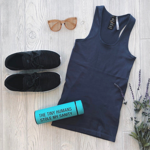 Athletic Deep Blue Tank
