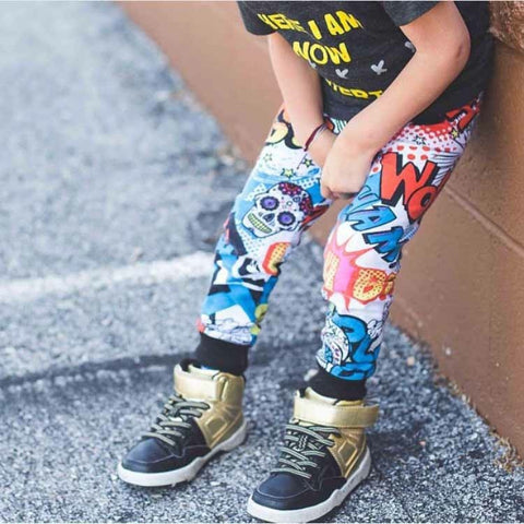 Comic Splash Joggers