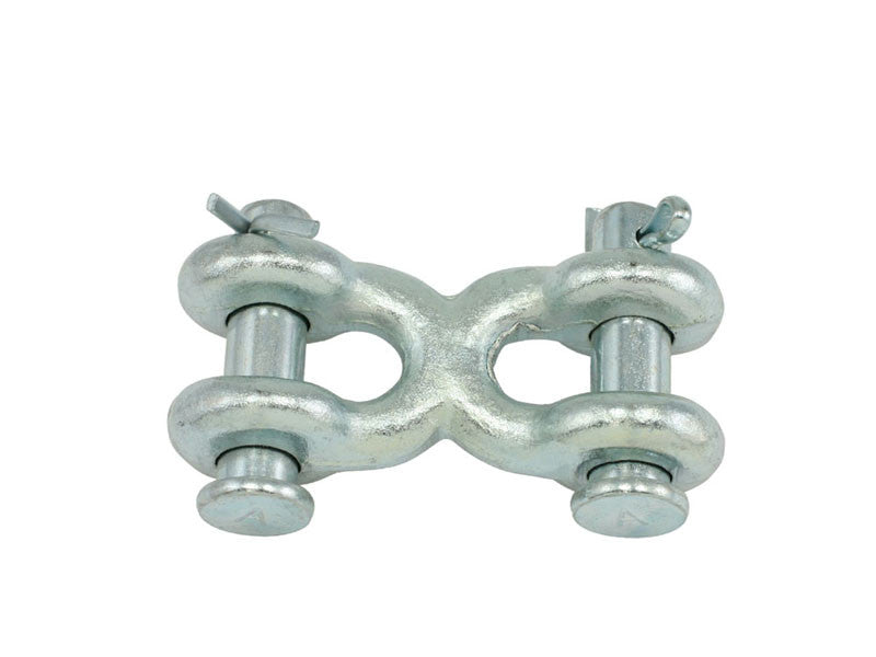 "1/4"" - 5/16"" Grade 40 High Test Double Clevis Link - Oaks Distribution Inc"