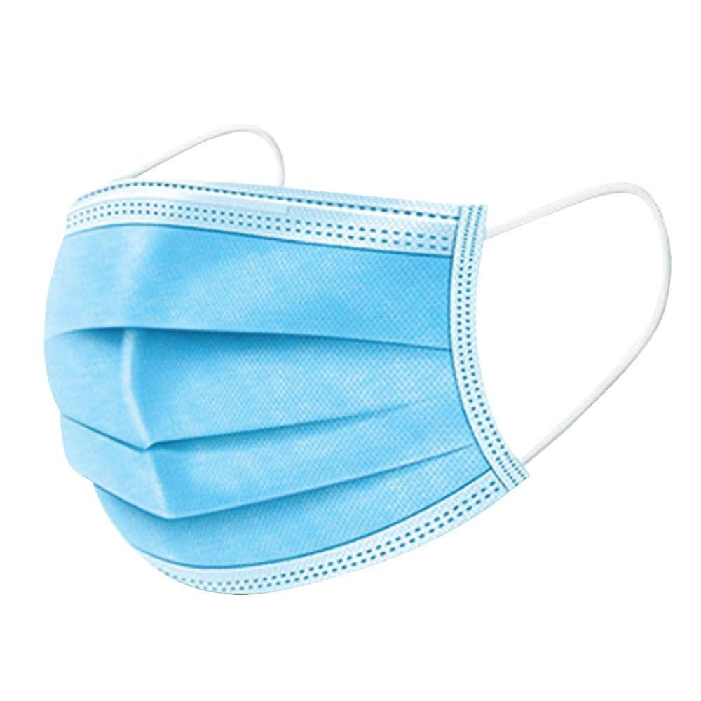 Disposable Filter Protective Face Mask - 25 piece