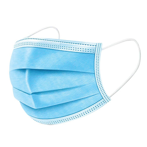 Disposable Filter Protective Face Mask - 50 piece