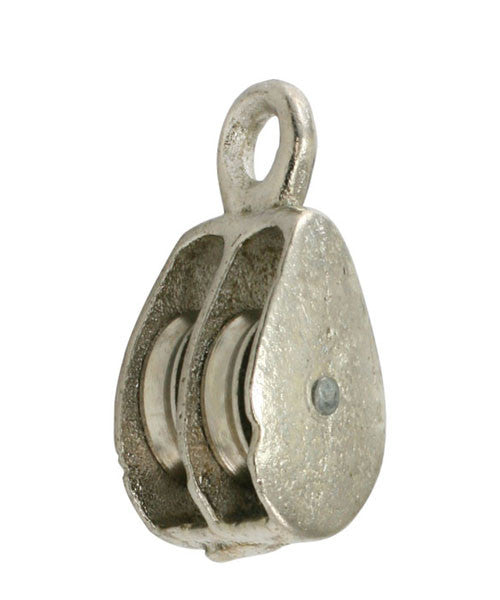 "3/4"" Double Solid EYE Pulley - Oaks Distribution Inc"