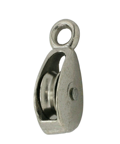 "1"" Single Solid EYE Pulley - Oaks Distribution Inc"
