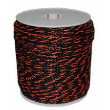 PolyPro Black & Orange Truck Rope - Oaks Distribution Inc - 1