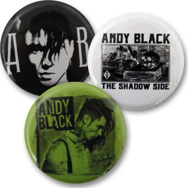 Andy Black Button Set