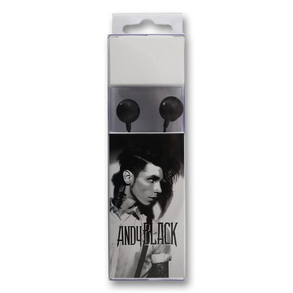 Andy Black Earbuds