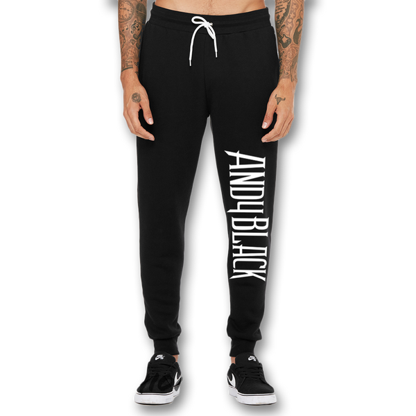 Andy Black Logo Joggers