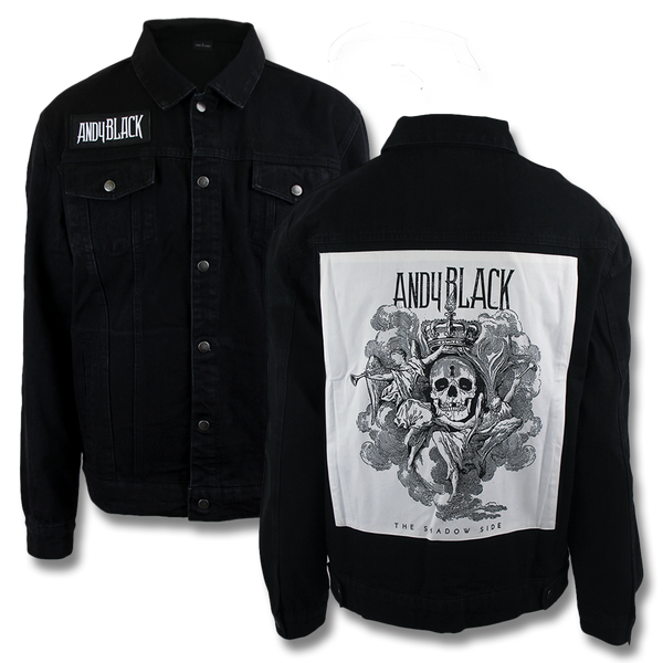 Andy Black Denim Jacket
