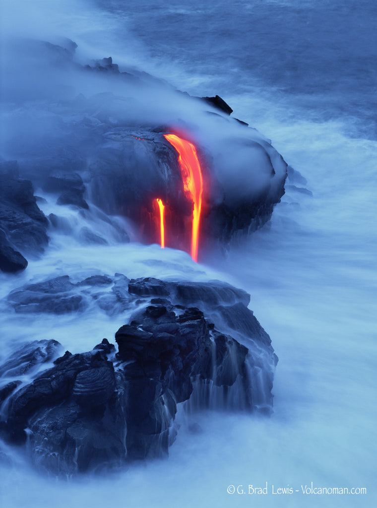 Conception Lava Flow Big Island - Hawaiipictures.com