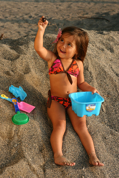 Young Child With Beach Toys
