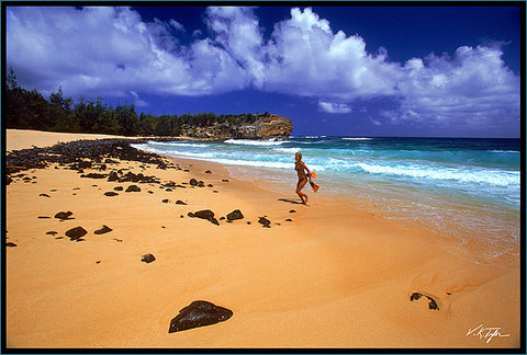 Shipwrecks Beach in Poipu by Hyatt Hotel Kauai-Hawaiipictures.com