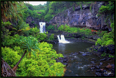 Seven Sacred Pools Maui - Hawaiipictures.com