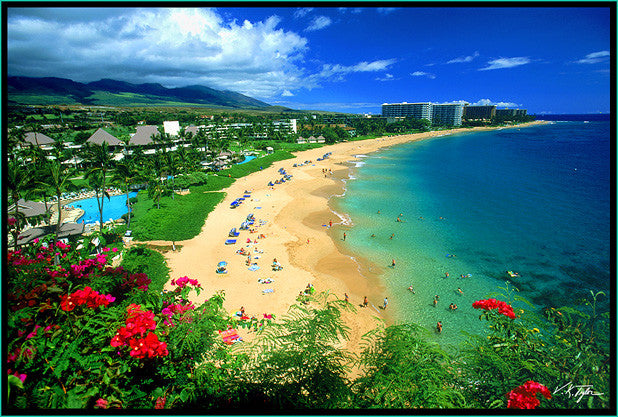 Kaanapali Beach Picture, Maui-Hawaiipictures.com