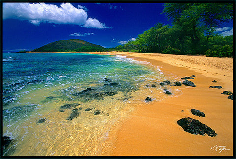 Makena Big Beach  Oneloa Beach Maui-Hawaiipictures.com