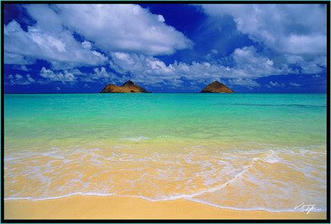 Lanaikai Beach Picture Oahu - Hawaiipictures.com