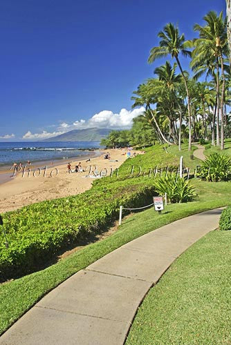 Wailea beach walk and Ulua Beach, Maui, Hawaii