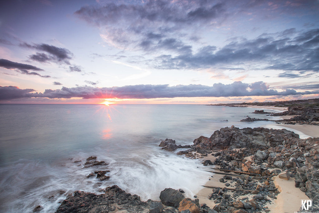 Kahoolawe Sunrise Hawaii-Hawaiipictures.com