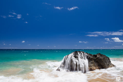 Kauai Beach Splash - Hawaiipictures.com