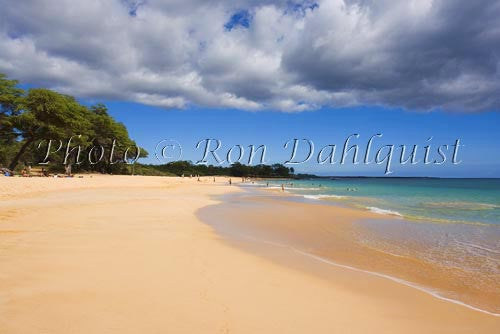 Big Beach, Oneloa Beach, Maui, Hawaii Picture Photo - Hawaiipictures.com