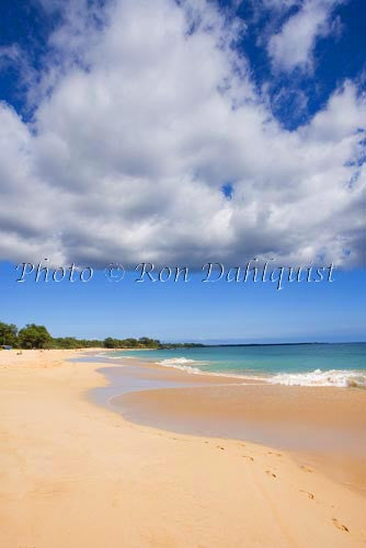 Big Beach, Oneloa Beach, Maui, Hawaii Photo - Hawaiipictures.com