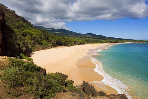 Big Beach, Oneloa Beach, Maui, Hawaii Picture - Hawaiipictures.com