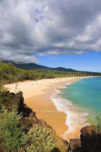 Big Beach, Oneloa Beach, Maui, Hawaii - Hawaiipictures.com