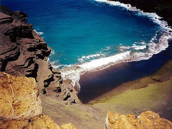 Green Sand Beach Picture - Hawaiipictures.com