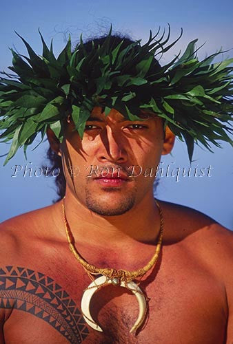 Traditional Kahiko hula dancer - Hawaiipictures.com