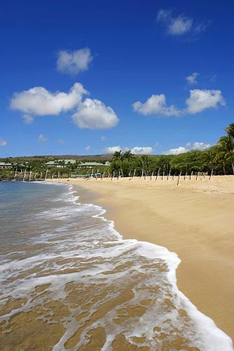 Hulopoe beach, Manele Bay, Lanai, Hawaii