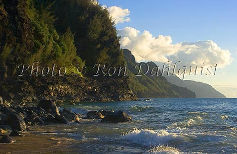 Na Pali Cliffs, Kauai, Hawaii Picture - Hawaiipictures.com