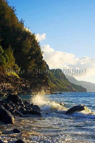 Na Pali Cliffs, Kauai, Hawaii Photo - Hawaiipictures.com