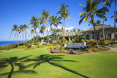 Wailea Gold & Emerald Golf course, Seawatch Restaurant, Maui, Hawaii