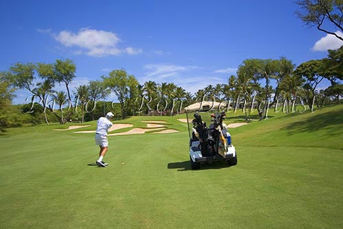 Wailea Gold Golf course, Maui, Hawaii Picture