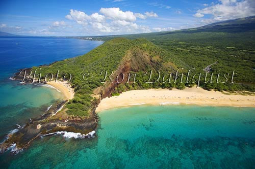 Little Beach and Big Beach, (Oneloa Beach) Makena, Maui Picture